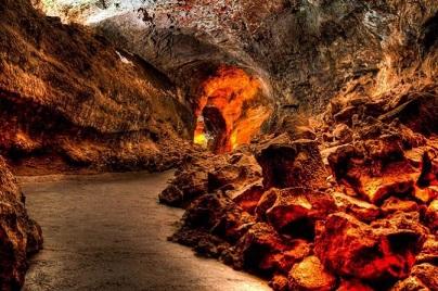 La Cueva de los Verdes Lanzarote