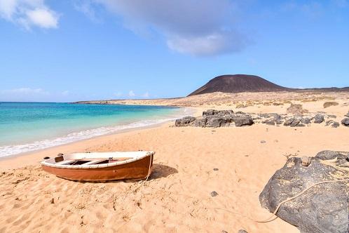 La Graciosa saar Lanzarote